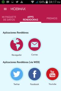 App rendidoras